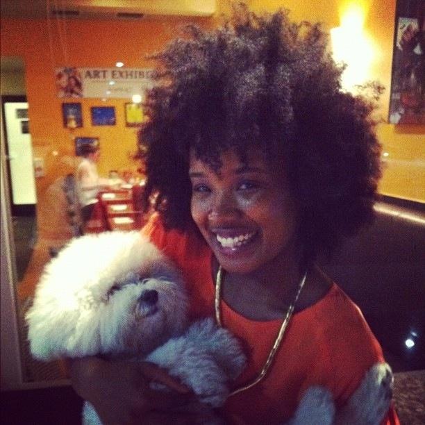 Met this gal at 9021Pho Los Angeles