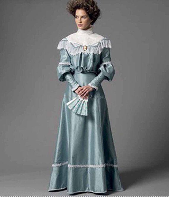 steampunk dress pattern butterick 5970
