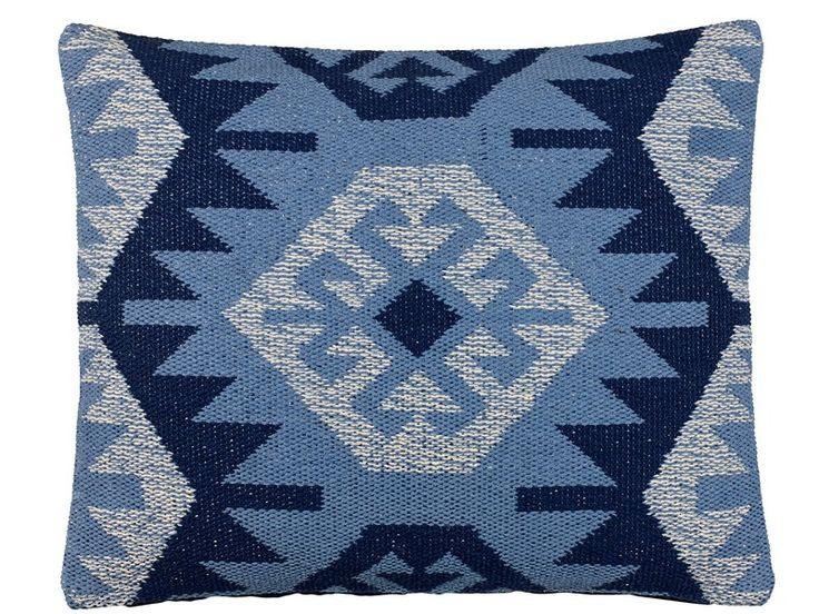 Södahl Kelim Rug Pude 50 x 60 cm blå
