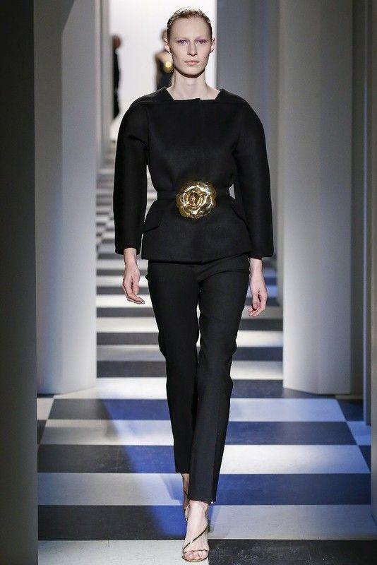 Нью-Йорк: Oscar de la Renta осень-зима 2017-2018: myfashion_diary