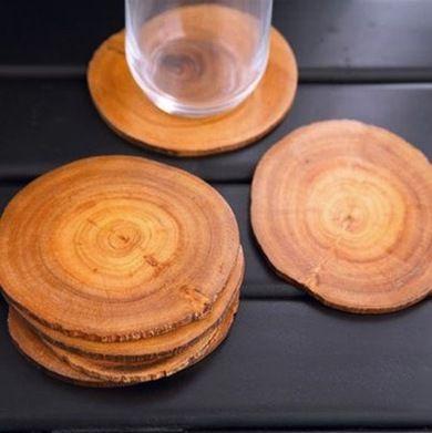 Coasters - Natural Wood Decor - Bob Vila