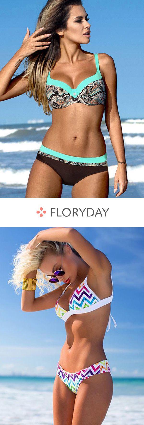 Große Größen Bikinis Muster – Bikinis