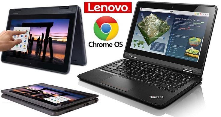 Lenovo ThinkPad Yoga 11e Touchscreen Chromebook with 360° Hinge, Intel Quad-Core Processor, 4GB RAM, 16GB SSD, Chrome OS