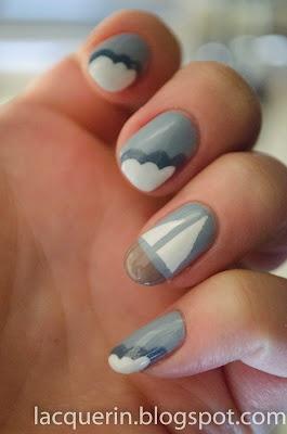 Sailboat nails :)