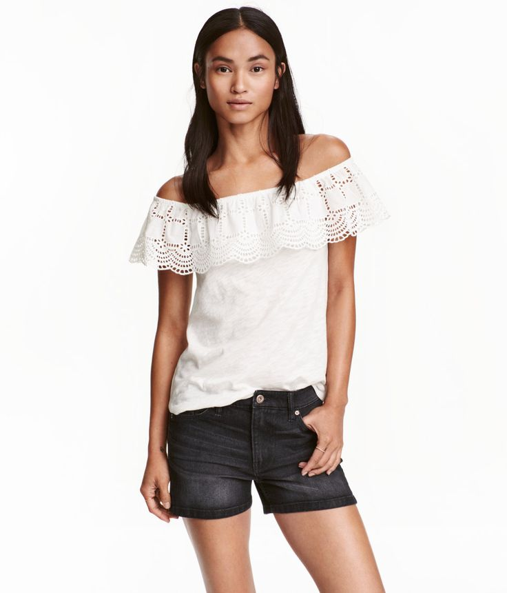 Jeansshorts | Schwarz | Ladies | H&M DE