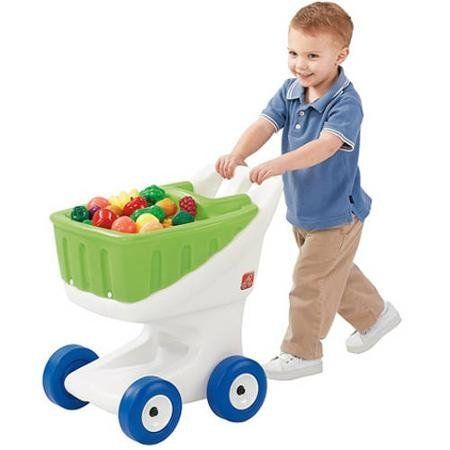 Durable Large Wheels Roll Smoothly, Little Helper's Grocery Cart, Multicolor * This is an Amazon Affiliate link. Check out this great product.