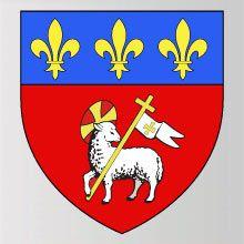 Blason rouen armoirie rouen departement seine maritime blason en resine symbole ville rouen logo ville rouen stickers ville rouen autocollant ville rouen adhesif ville rouen