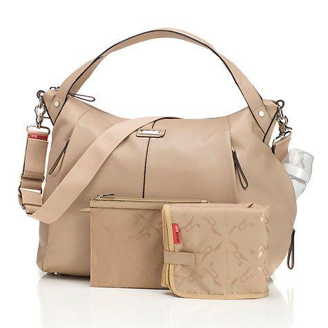 Storksak Catherine Changing Bag, Almond Online at johnlewis.com