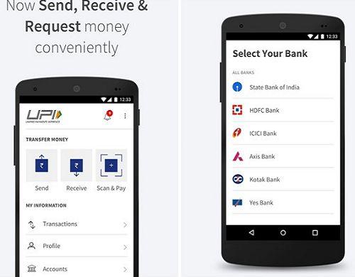 नरेंद्र मोदी द्वारा लॉन्च BHIM एप्प