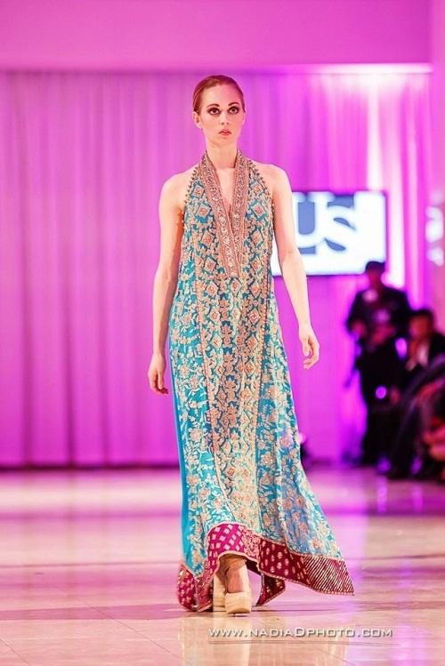 Umar Sayeed at International Bridal Wedding Fashion and Jewelry Week 2013