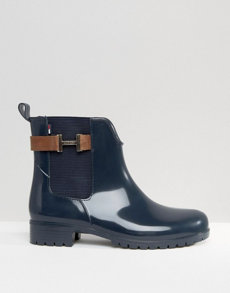 Image 2 ofTommy Hilfiger Oxley Chelsea Boot Wellies