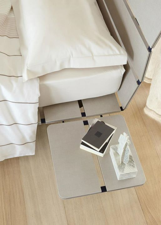 a bed of eastern inspiration elegant and cleancut the mattress support consists