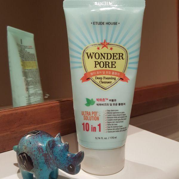 Wonder Pore – Detergente per il viso della Etude House