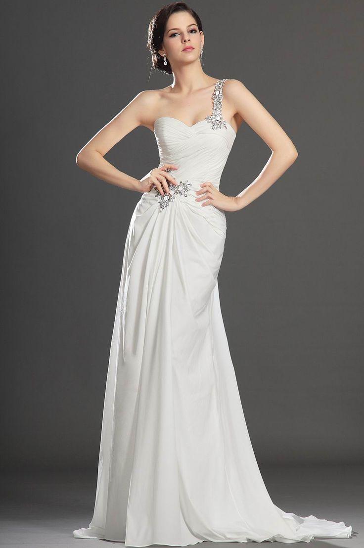 Floor-Length-White-Long-party-Dresses
