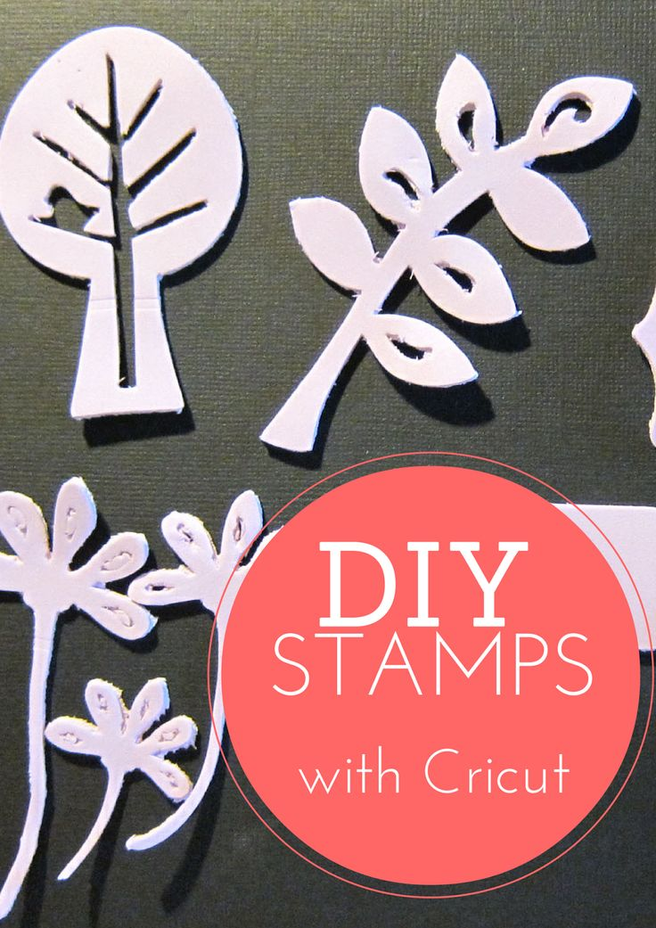 DIY Stamping with Cricut, Part 2. Wondering if your Cricut can cut foam stamps? Wonder no more. Check out me tutorial on cutting with Cricut Cuttables Stamp Material and craft foam.