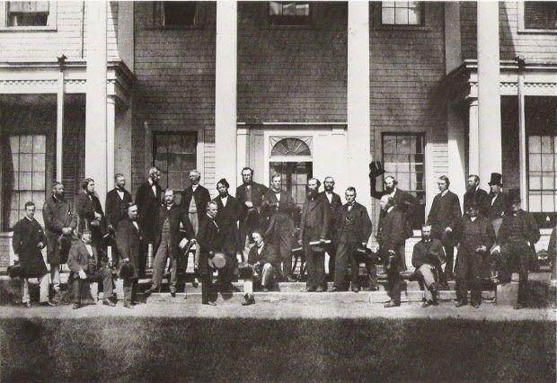 1867 competes with 1812, 1608 and 1982 as founding dates in Canadian history