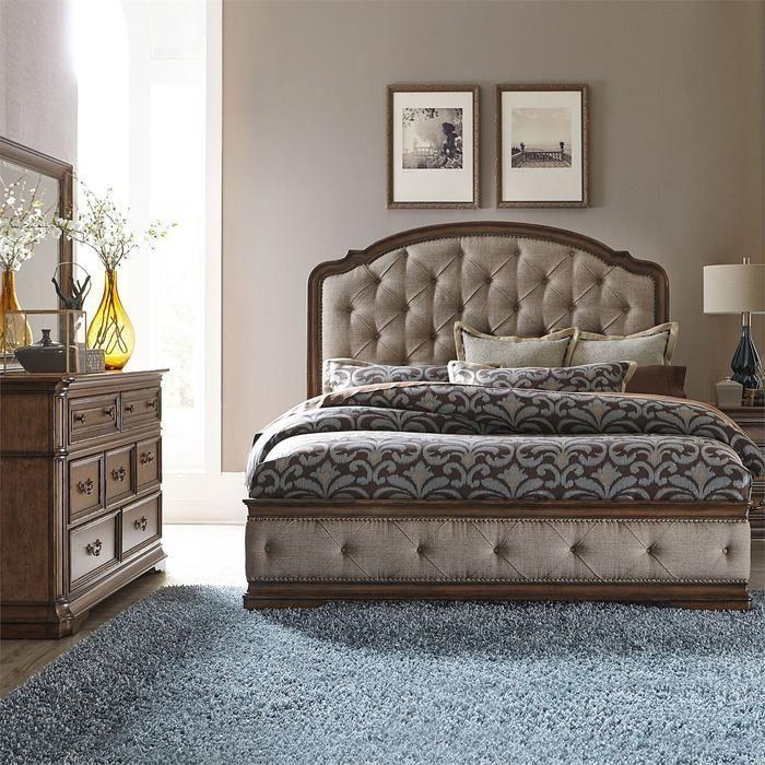 Amelia Bedroom King Uph 5 Piece Bedroom Set In 2019