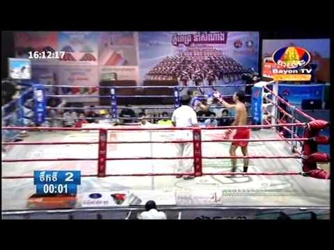 Khmer Traditional Boxing | Bayon TV Khmer Boxing Today, Part 1
