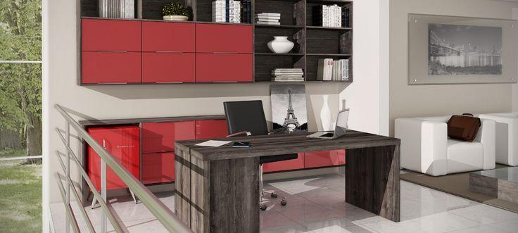 Home office - ATACAMA E LACCA VERMELHA