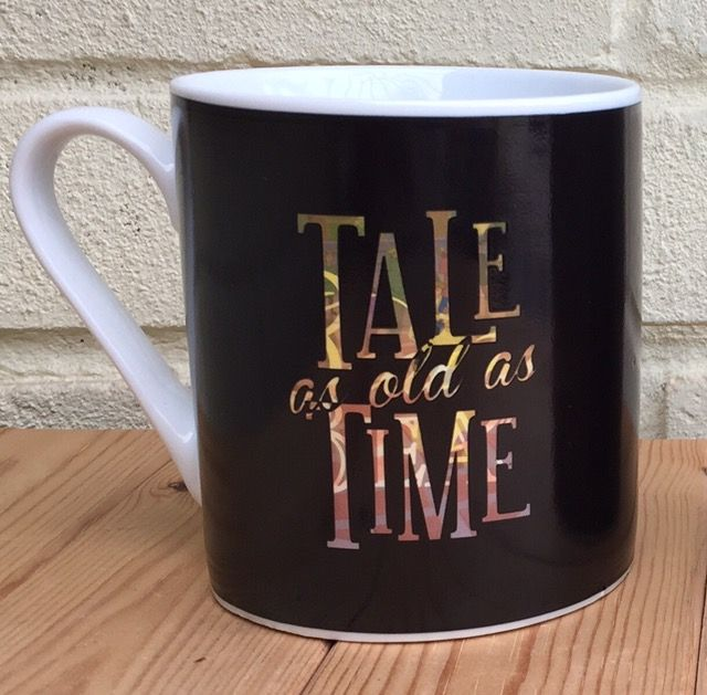 Disney Beauty and the Beast heat changing mug. Take as old as time.