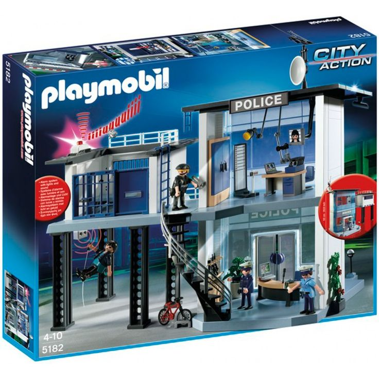 Playmobil Αστυνομικό Τμήμα 5182