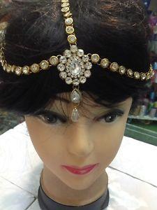 New Bollywood Indian Costume Jewellery Head Piece Matha Patti D001 | eBay