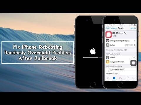How To Fix iPhone Rebooting Randomly Overnight Problem After Jailbreak