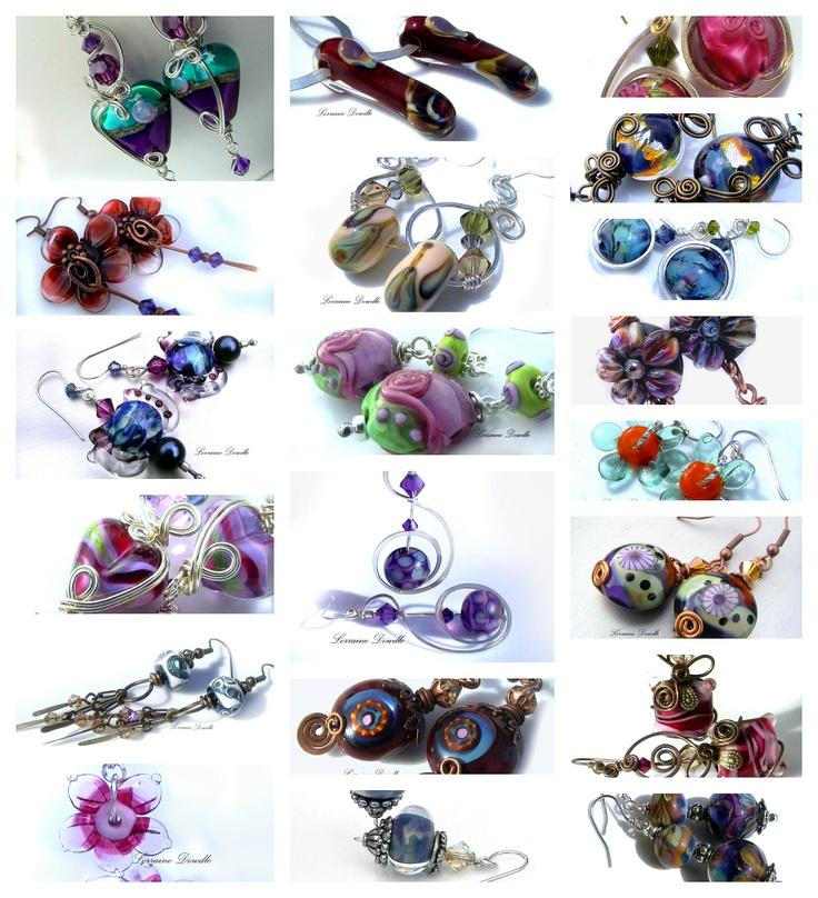 http://www.lorrainedowdlecreations.com/gallery/LorraineDowdleEarringswithLDCbeads.jpg