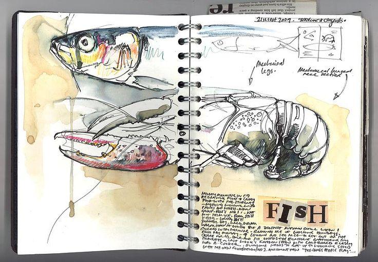 Duncan Cameron Artist   Sketchbooks