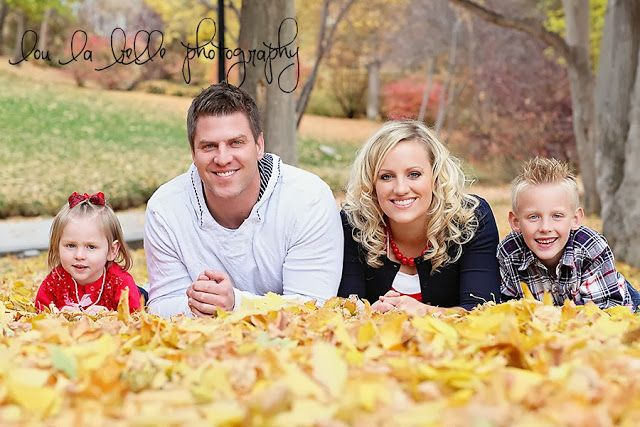 family photography, family photos, family of 4 pose, fall family photography, leaves, autumn, Utah photography, lou la belle photography