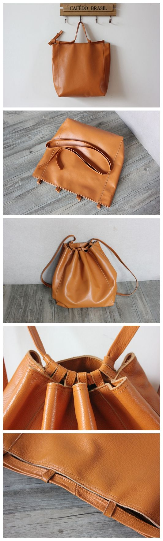 Handmade Leather Shoulder Bag For Women