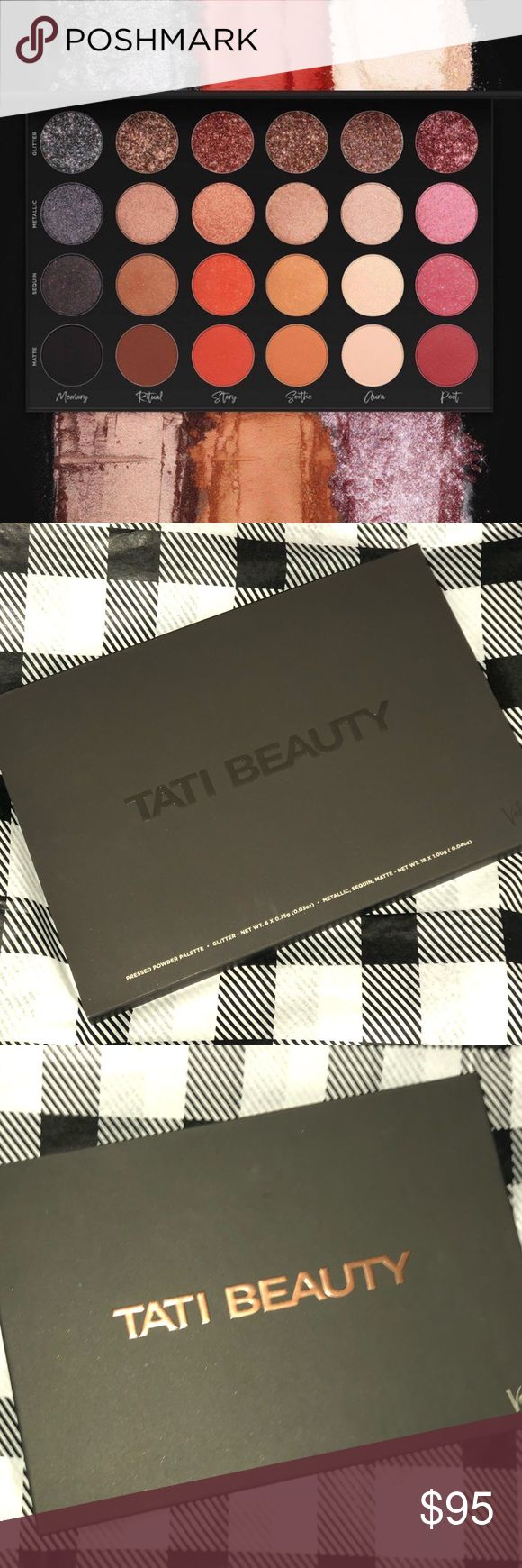 TATI BEAUTY Pressed Powder Palette VOL. 1 Colorful