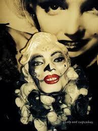 Image result for black hair white skin red lips