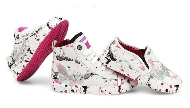 J Ciakg -Bambina-Geox #sneakers #multicolor #ragazza #fresco # sbarazzino # @Geox