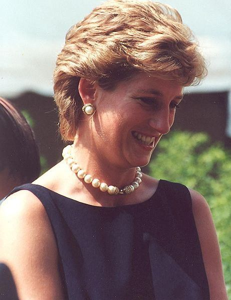 Diana, Princess of Wales (1 July 1961 – 31 August 1997) was the first wife of Charles, Prince of Wales. She was well known for her fund-raising work for international charities and as an eminent celebrity of the late 20th century. Her wedding to the Prince of Wales on 29 July 1981 was held at St Paul's Cathedral and seen of over 750 million. While married she bore the titles Princess of Wales, Duchess of Cornwall, Duchess of Rothesay, Countess of Chester and Baroness of Renfrew. Wikipedia