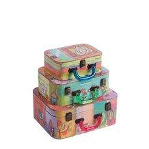 Фотография: Хранение, Декоративные коробки, Фото Декоративный чемодан с акриловыми ручками Arcobaleno Media  DG Home на InMyRoom.ru