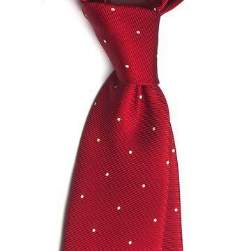 Cravata matase polka dots