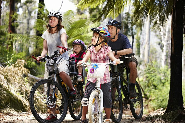 On ya bike! Get the family outdoors and active mountain biking in Marysville. Check out lots of things to do in the Visit Marysville App.  www.marysvilletourism.com/visit-marysville-apps/