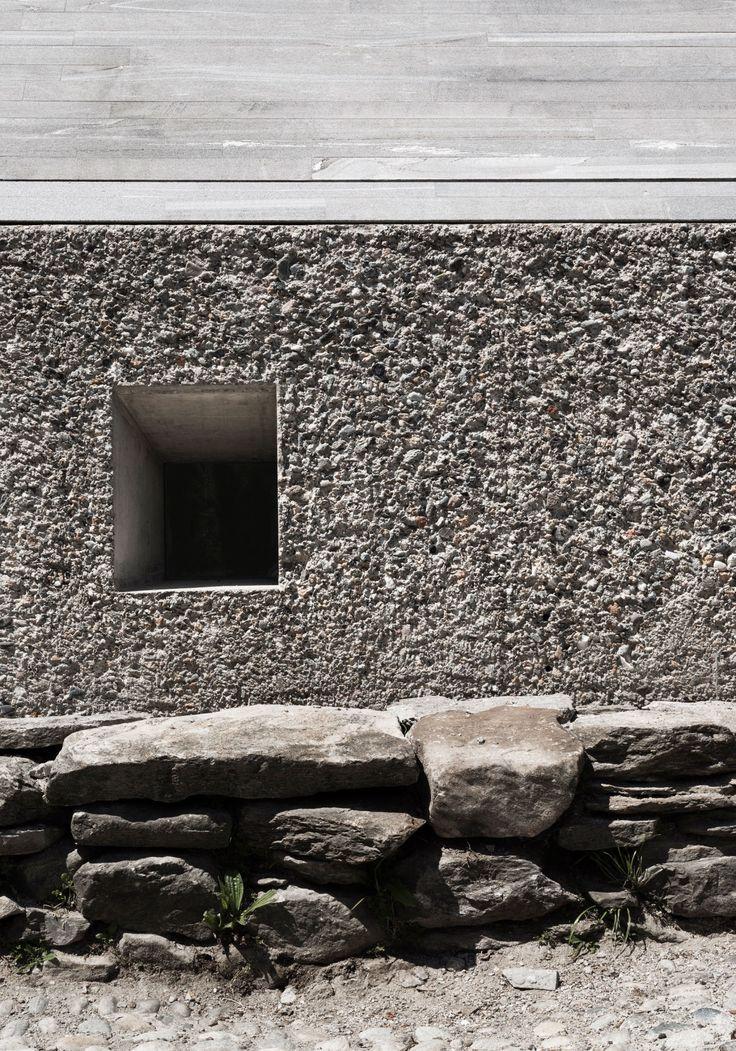 SWITZERLAND - MINUSIO STUDIO INCHES ARCHITETTURA Nuovo Padiglione per il Museo MeCrì PHOTOS BY SIMONE BOSSI