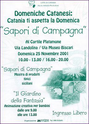 Domeniche catanesi