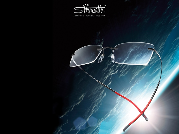 Pretty dynamic - the new Silhouette eyewear collection Titan Minimal Art. The Icon.