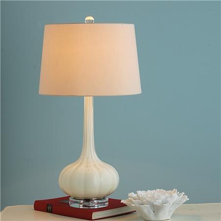 Long Neck Melon Glass Table Lamp Bedroom LampsLiving Room