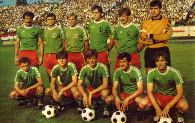 Legia Warsaw in the 1985-6 season