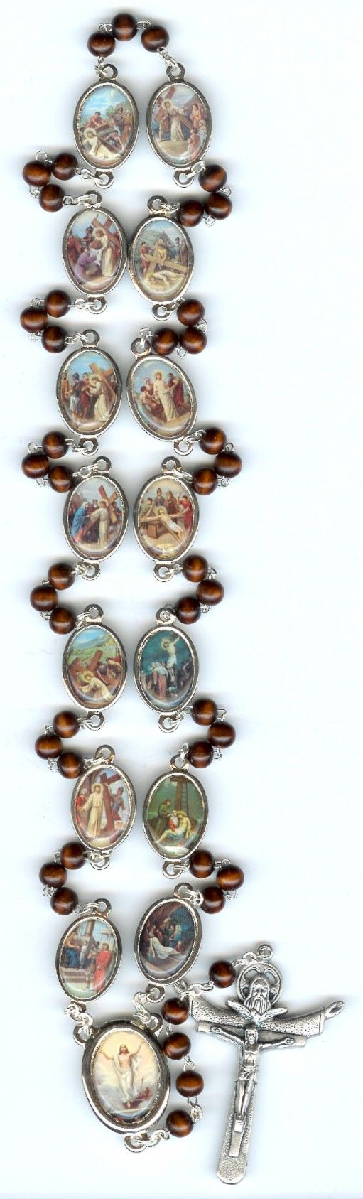 Stations of the Cross Rosary. Love this!