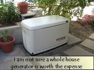 A Whole House Generator - Is it really worth it? repinned by www.motherearthproducts.com