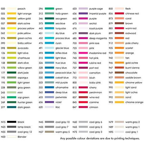 tombow colorchart | ABT Dual Brush Pen - tombow-en