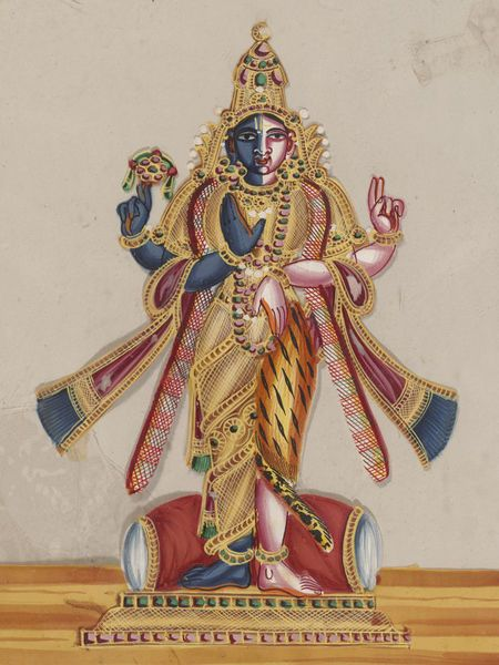 Trichinopoly, India (made)  Date: ca. 1850. This painting depicts Hari Hara.
