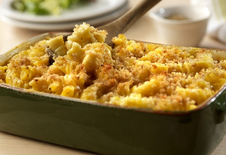 Campbell's Kitchen: Baked Macaroni &Cheese: Macaroni And Cheese, Baked Macaroni Cheese, Chee Recipes, Food, Mac Chee, Mac And Cheese, Breads Crumb, Cheese Recipes, Baking Macaroni Cheese