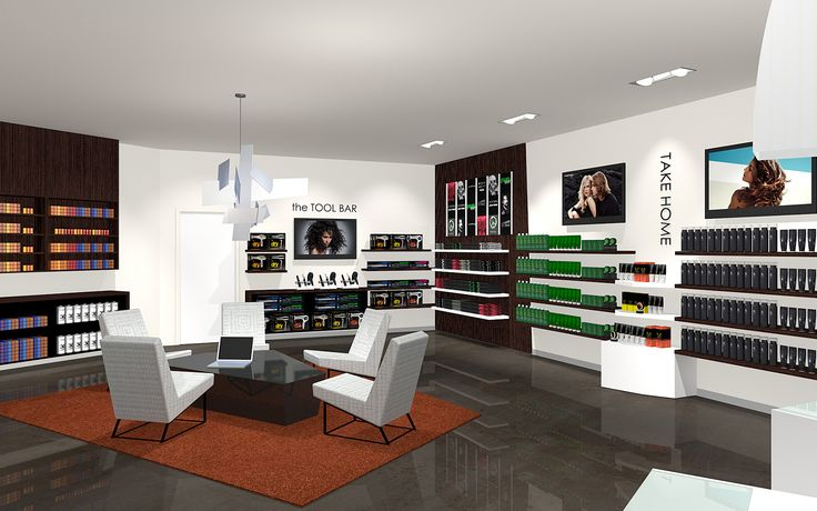 Paul mitchell salon interior design wadsworth design for Adazl salon and beauty supply