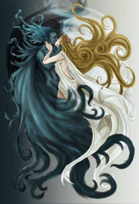 El apareamiento de Hades y Perséfone es una historia tan original , lleno de conquista , el hambre , la desesperación y el amor